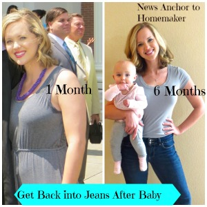 Getting Back into Jeans After Baby, Postpartum Workout ...