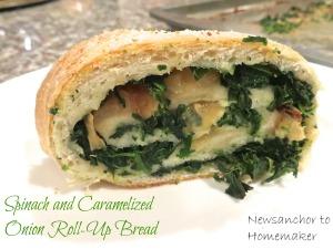 Spinach Bread, final