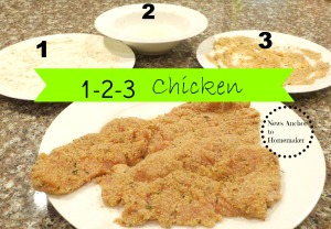 1-2-3 Chicken NewsAnchorToHomemaker
