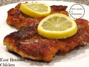 Chicken Cutlets NewsAnchorToHomemaker