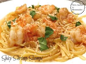 Shrimp Scampi NewsAnchorToHomemaker