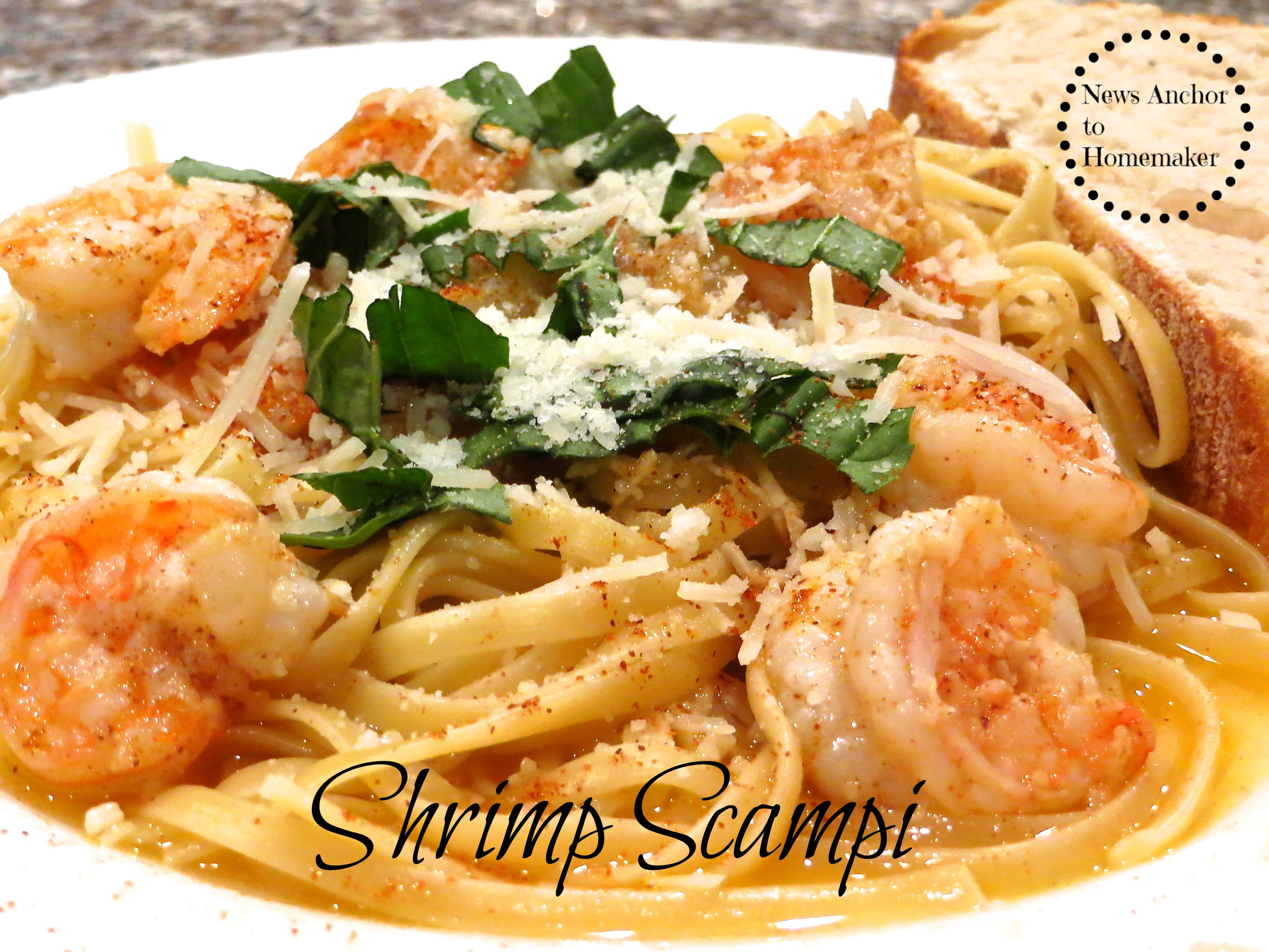 Valentine 39 s dinner easy spicy shrimp scampi recipe news What to make with shrimp for dinner