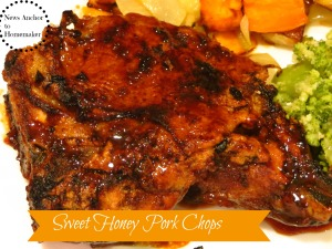 Honey Pork Chops  NewsAnchorToHomemaker