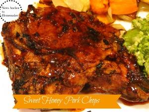 Honey Pork Chops  NewsAnchorToHomemaker