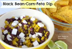 Black Bean Corn Feta Dip