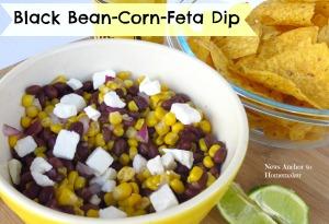 Black Bean Corn Feta Dip