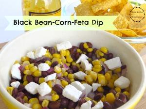 Blackbean Corn Feta Dip
