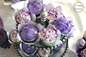 Purple Cupcakes on News Anchor To Homemaker