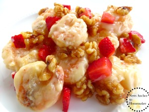 White Honey Walnut Shrimp, Asian Dinner Recipe www.newsanchortohomemaker.com