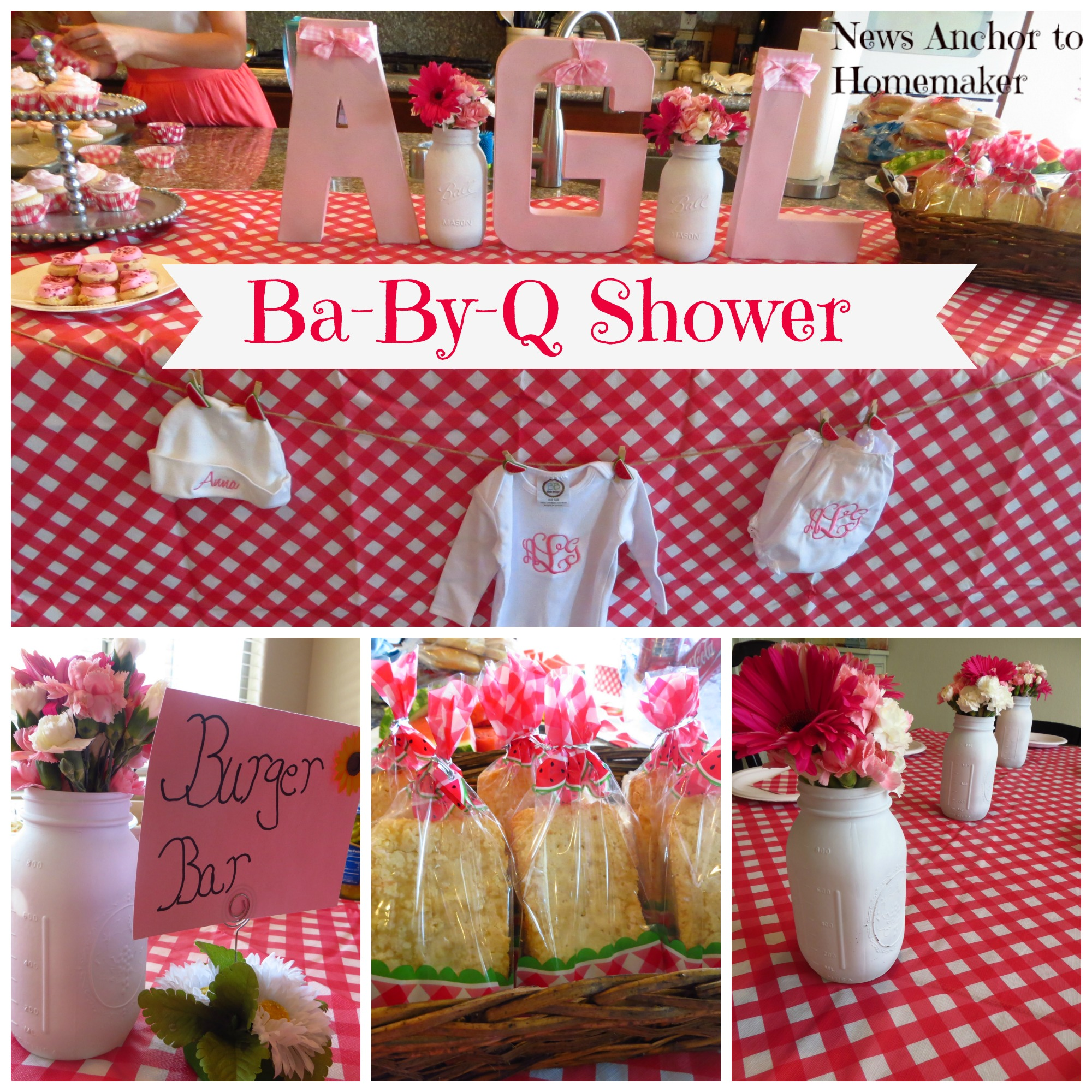 Ba by q shower co ed barbecue themed baby shower news for Baby shower bbq decoration ideas